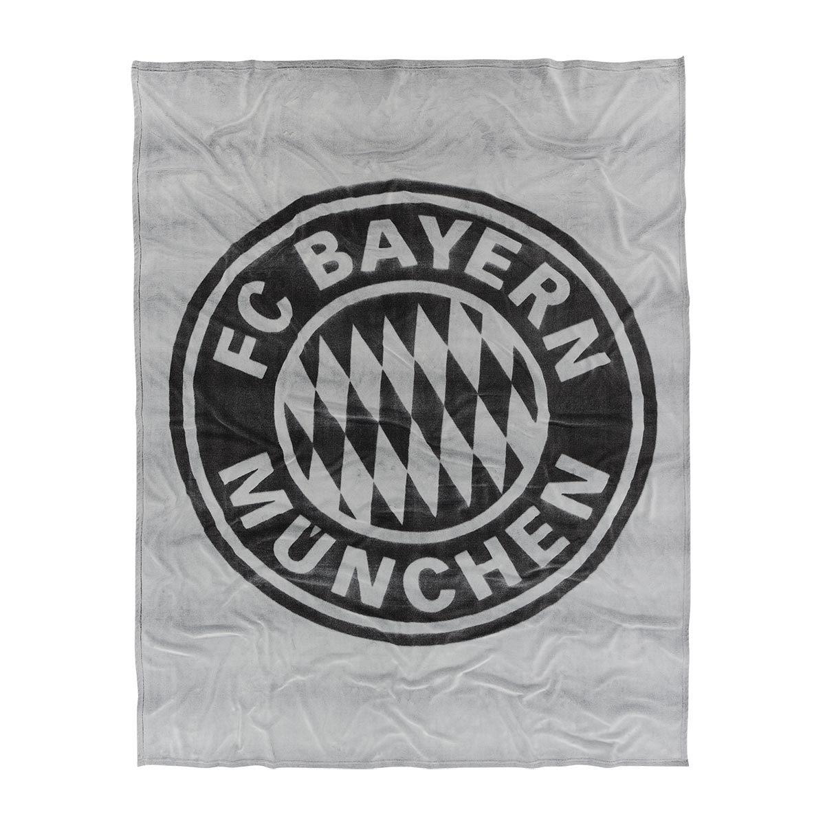 FC Bayern München Flanell Kuscheldecke