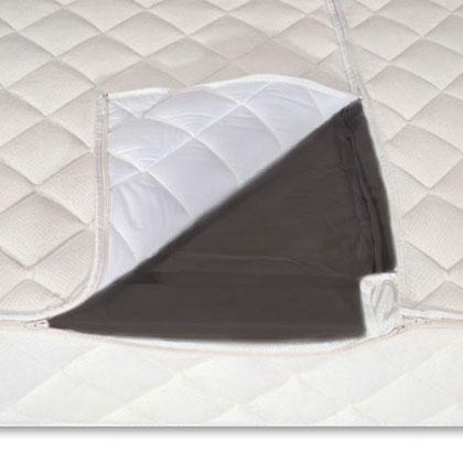 BettwarenShop Frottee Bezug für Hardside Wasserbetten | Schlafzimmer > Betten > Wasserbetten | Baumwolle - Polyester | BettwarenShop