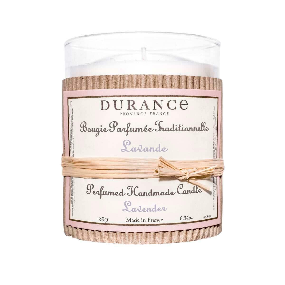 Durance Handgefertigte Duftkerze Lavendel