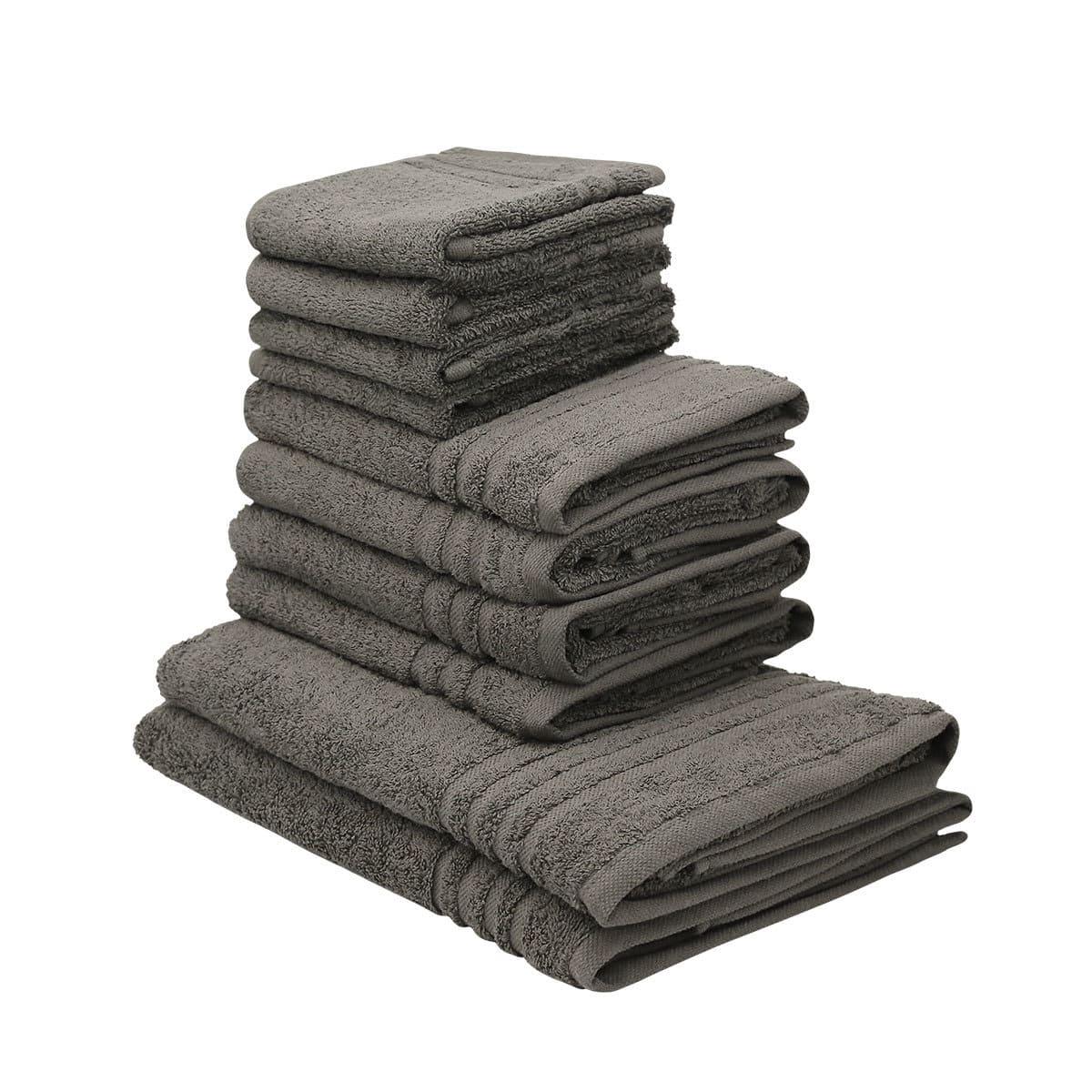 traumschlaf handtuch set monika mit bord re 10 teile g nstig online kaufen bei bettwaren shop. Black Bedroom Furniture Sets. Home Design Ideas