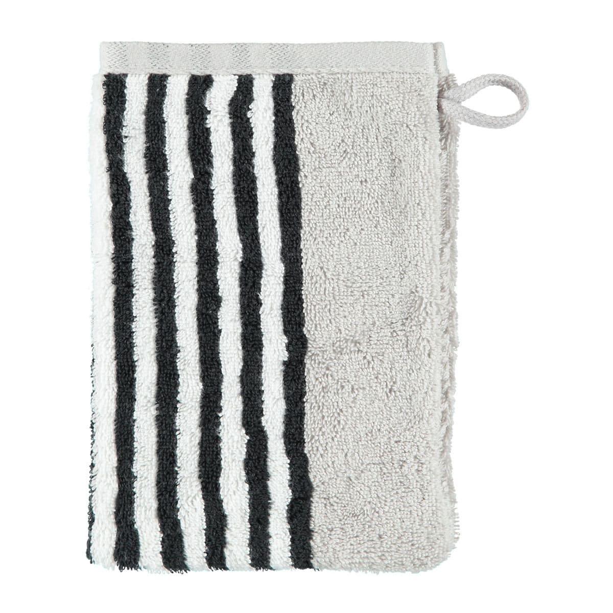 caw handt cher black and white streifen g nstig online kaufen bei bettwaren shop. Black Bedroom Furniture Sets. Home Design Ideas