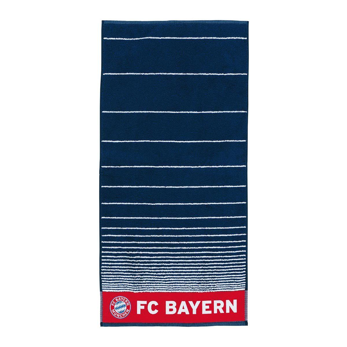 FC Bayern München Handtücher navy