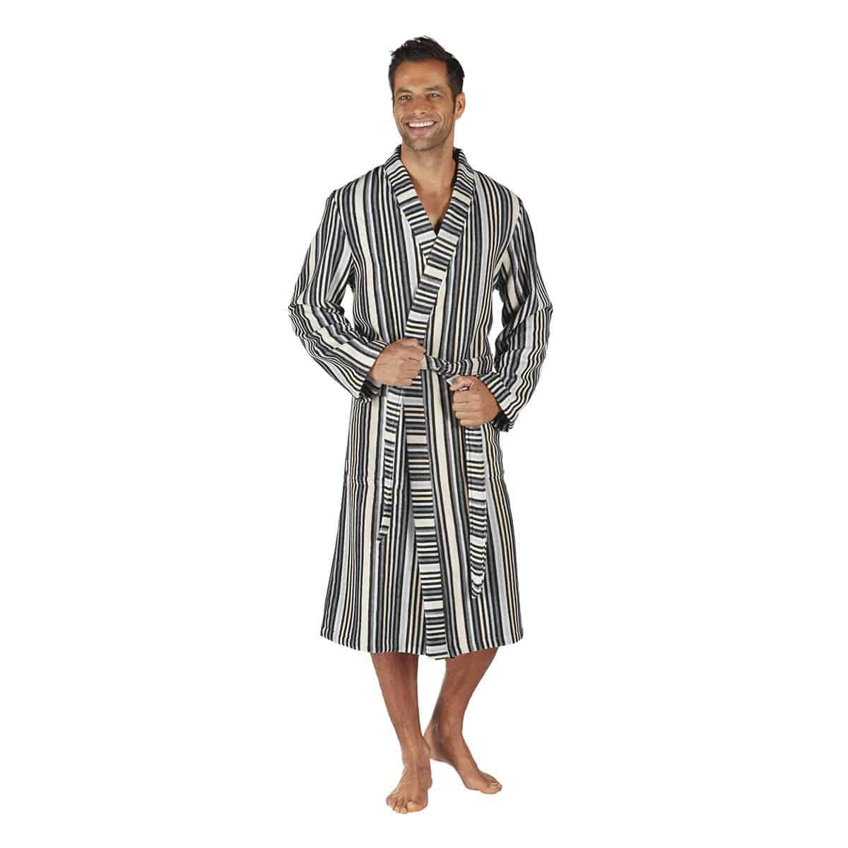 Egeria Herren Kimono Cody anthracite