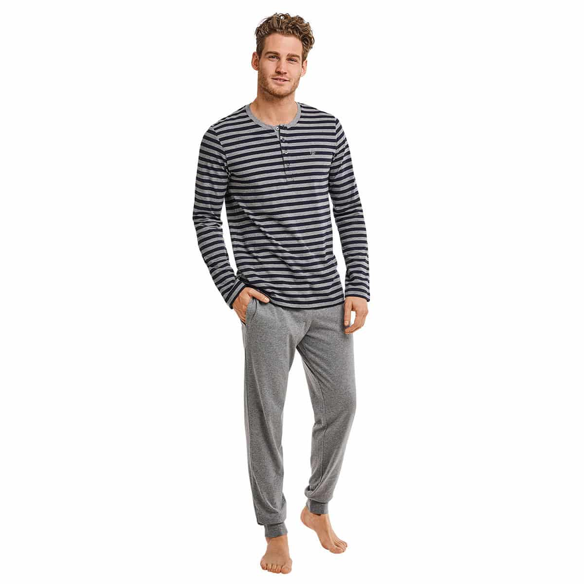 62c2be4ab3 Marc O Polo Herren Pyjama grey-melange günstig online kaufen bei ...