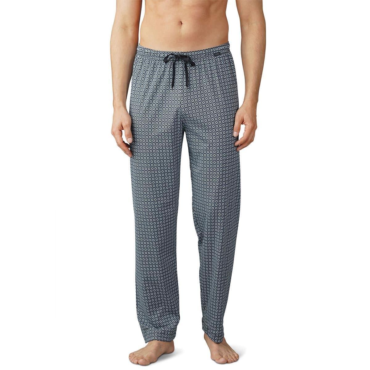 mey Herren Pyjamahose Lounge lang ciel