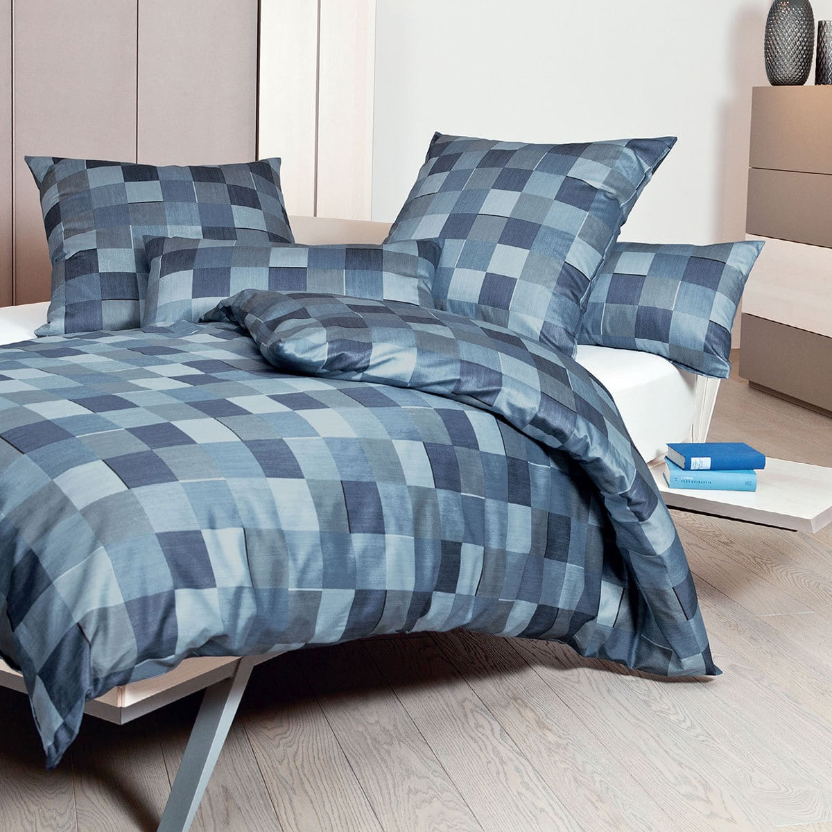 janine interlock feinjersey bettw sche carmen 53030 02 blau g nstig online kaufen bei bettwaren shop. Black Bedroom Furniture Sets. Home Design Ideas