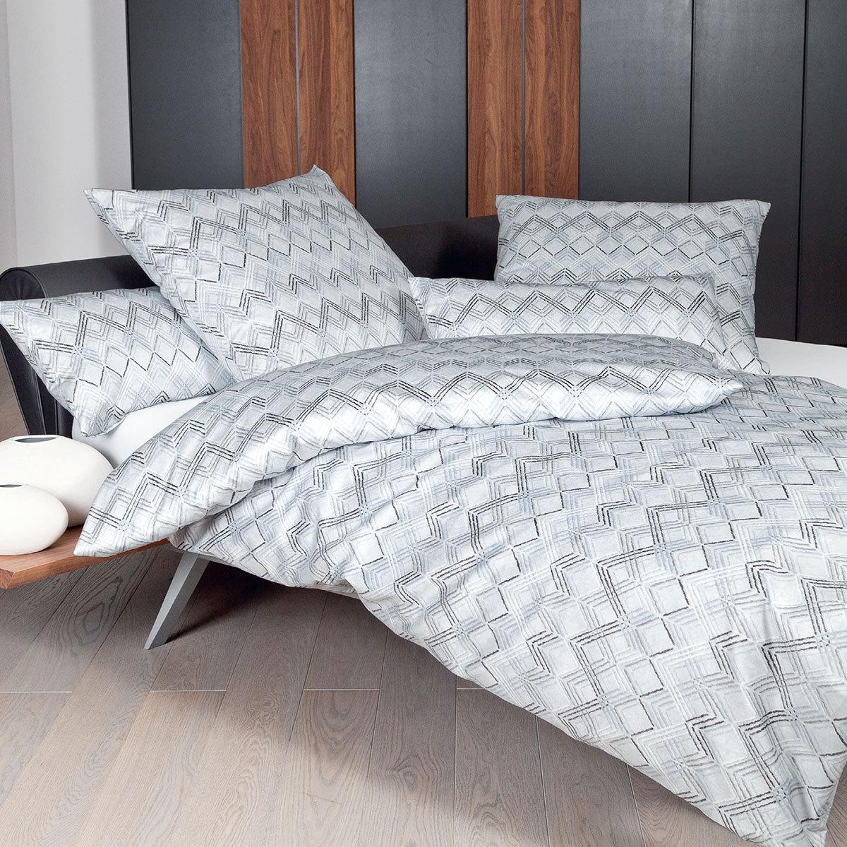 janine interlock feinjersey bettw sche carmen 53032 08 silber g nstig online kaufen bei. Black Bedroom Furniture Sets. Home Design Ideas