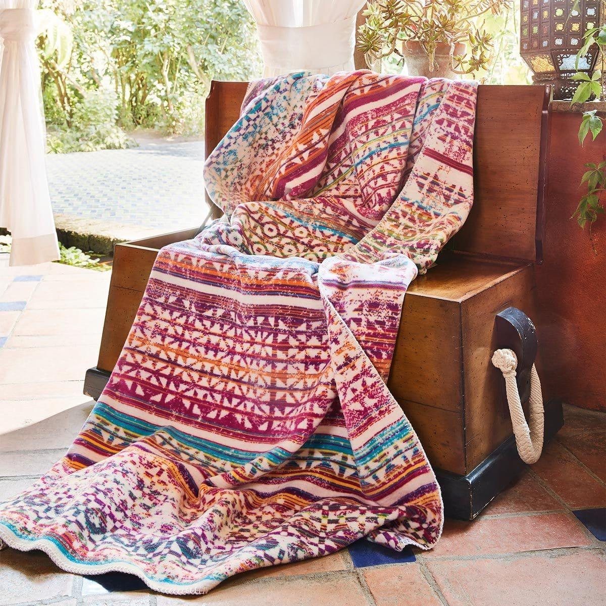 Ibena Jacquard Decke Bali