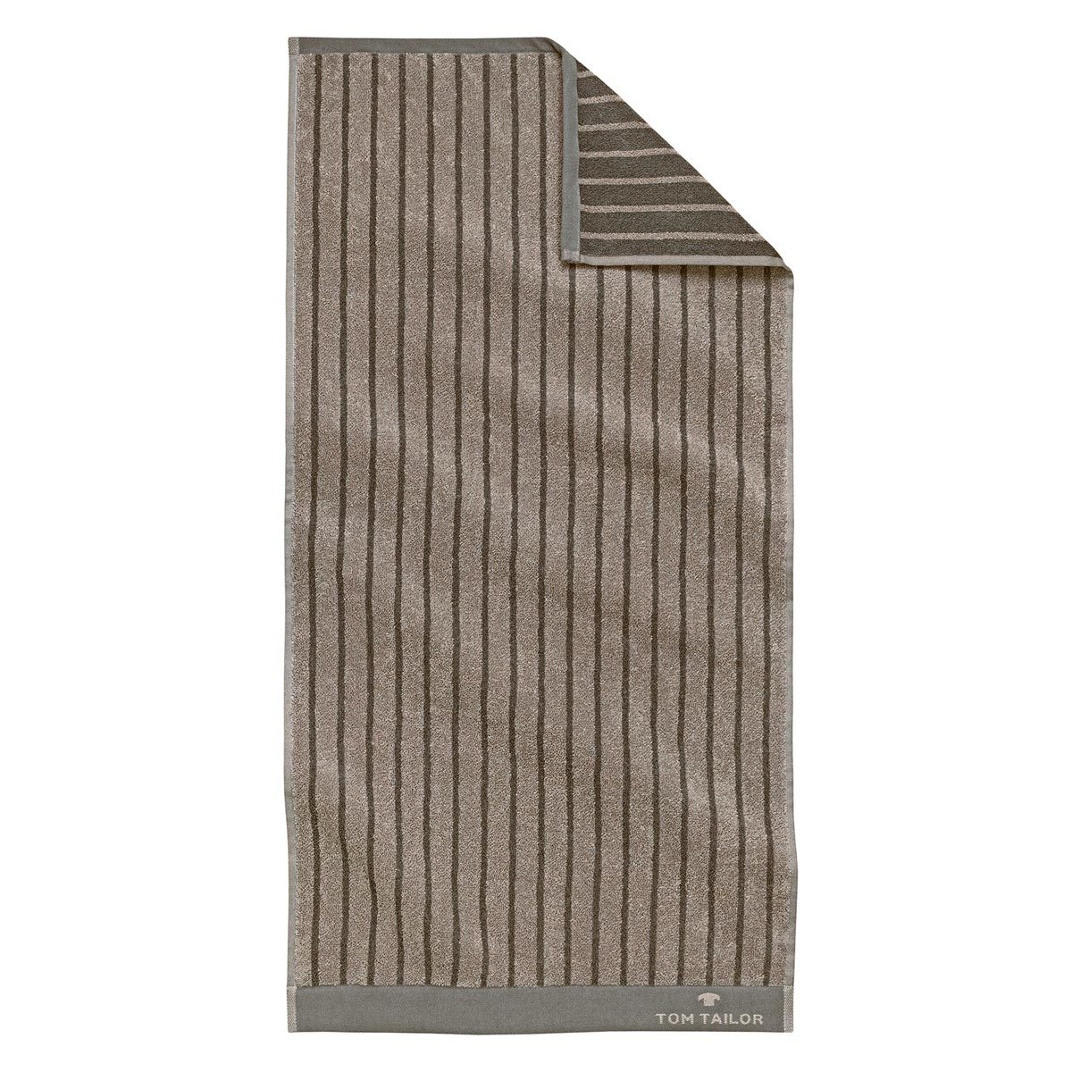 Tom Tailor Jacquard Handtücher Stripe