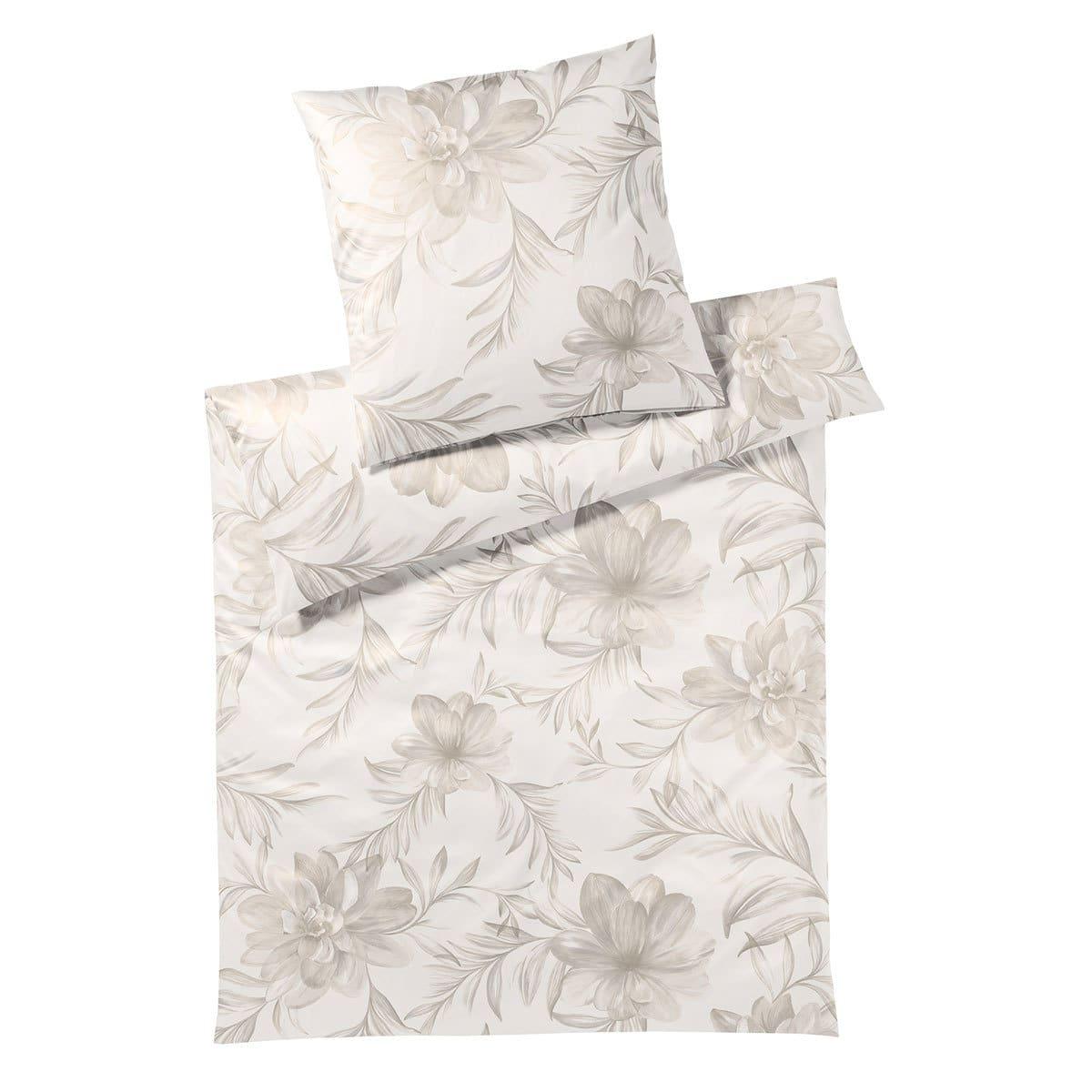 elegante jersey bettw sche blossom champagner g nstig online kaufen bei bettwaren shop. Black Bedroom Furniture Sets. Home Design Ideas