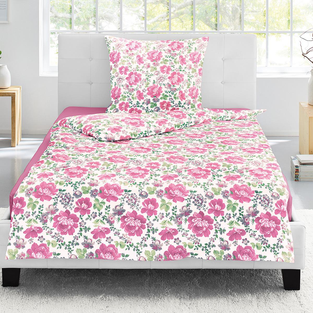 Irisette Jersey Bettwäsche Luna Edmonton pink