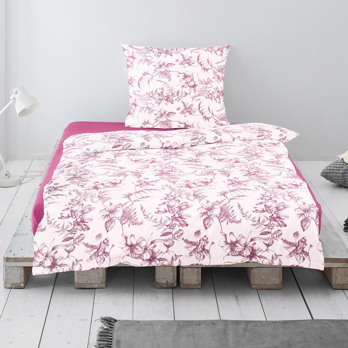 Irisette Jersey Bettwäsche Luna Mjölby Pink Günstig Online Kaufen