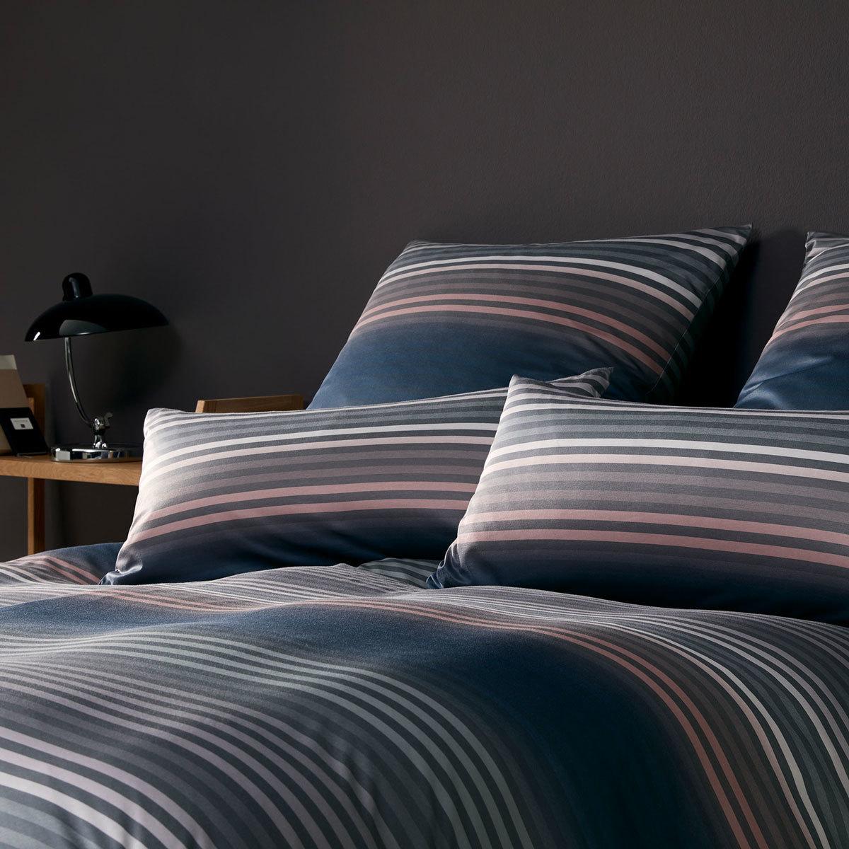elegante jersey bettw sche shades rose blau g nstig online kaufen bei bettwaren shop. Black Bedroom Furniture Sets. Home Design Ideas