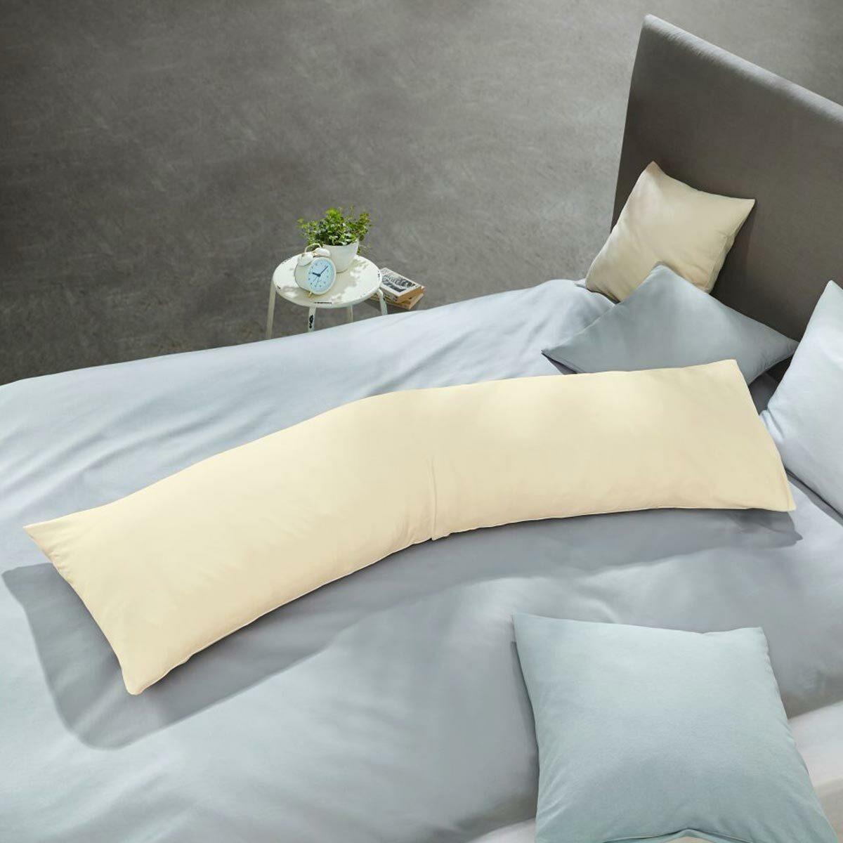 Schlafgut Jersey Elasthan Kissenbezug für Seitenschläferkissen