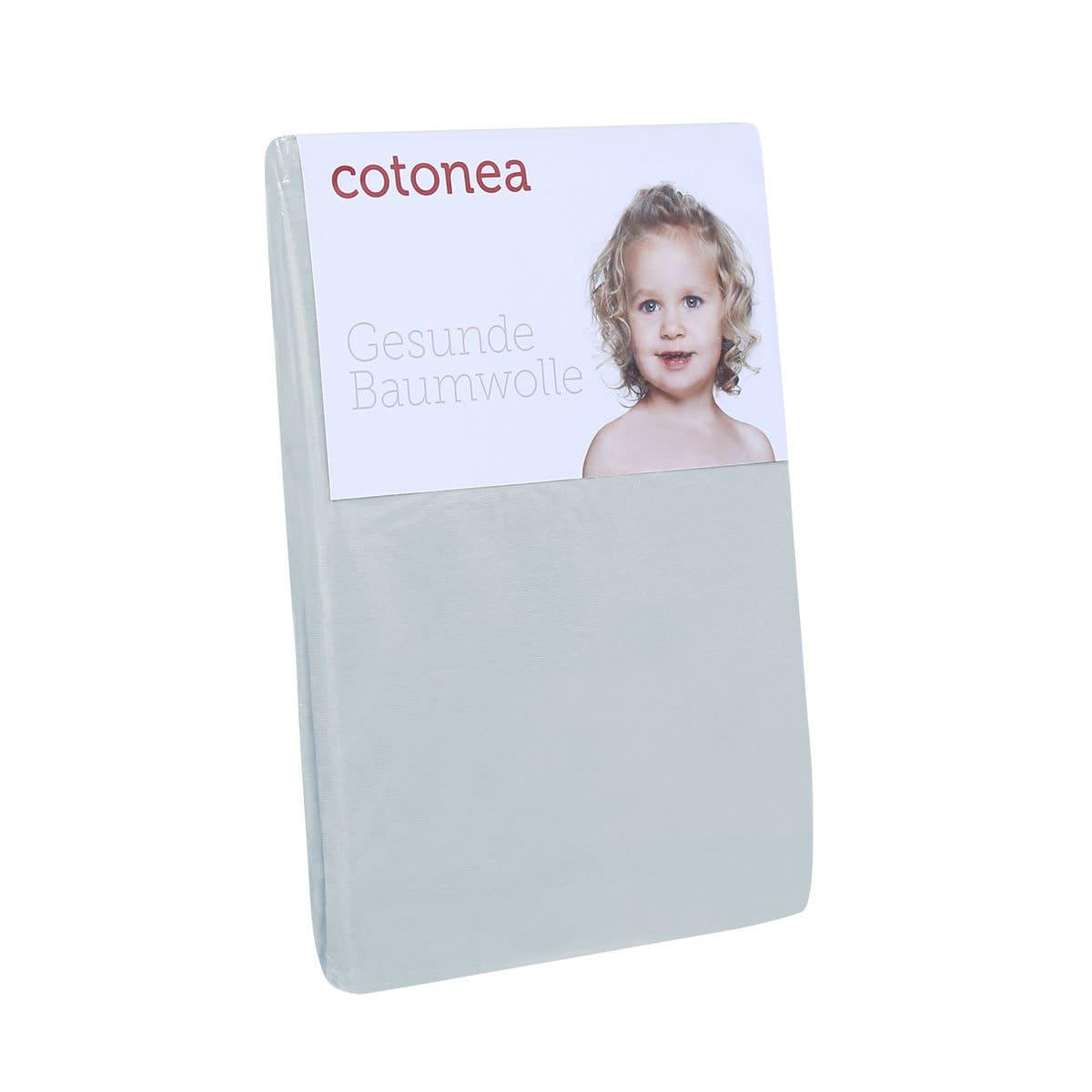 Cotonea Jersey Spannbettlaken aus Bio-Baumwolle