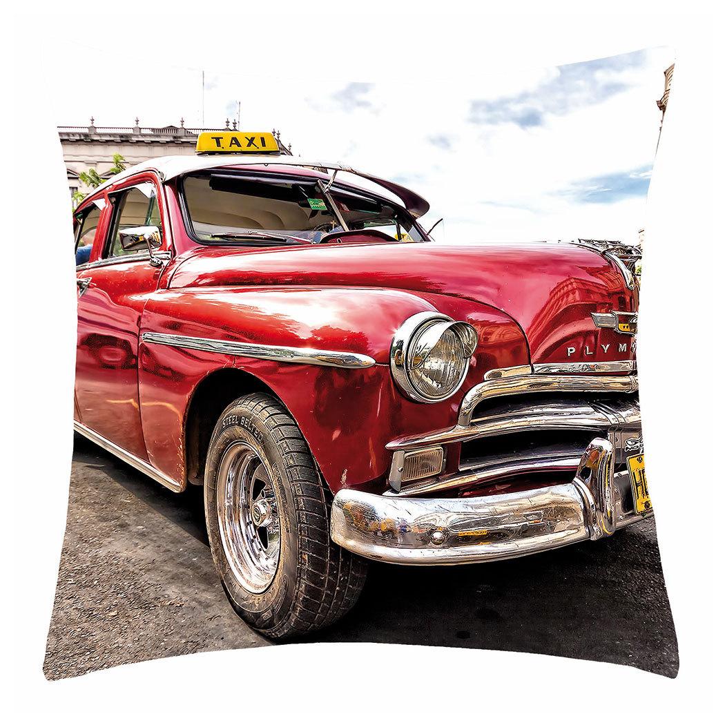 BettwarenShop Kissenhülle Car rot