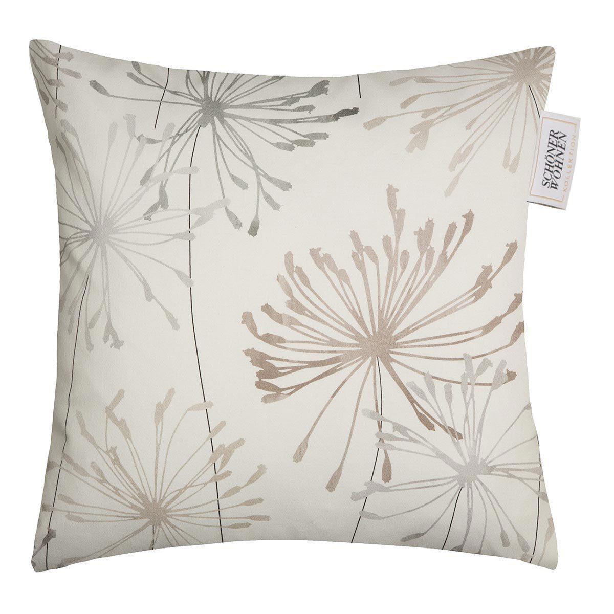 sch ner wohnen kissenh lle dandelion g nstig online kaufen bei bettwaren shop. Black Bedroom Furniture Sets. Home Design Ideas
