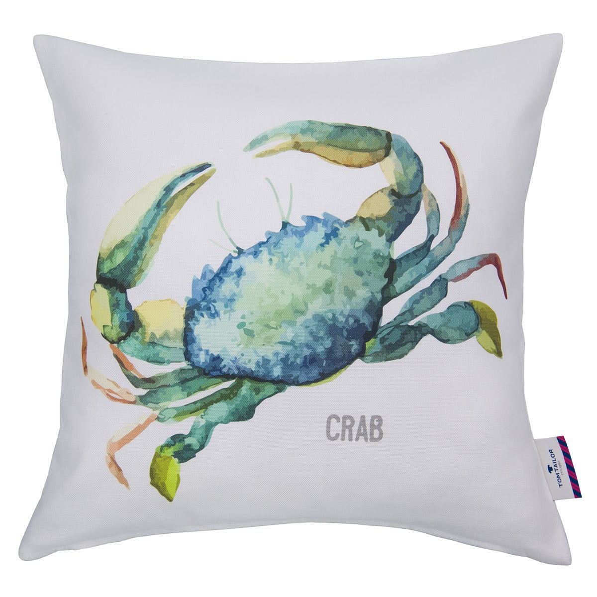 tom tailor kissenh lle green crab wei t rkis g nstig online kaufen bei bettwaren shop. Black Bedroom Furniture Sets. Home Design Ideas