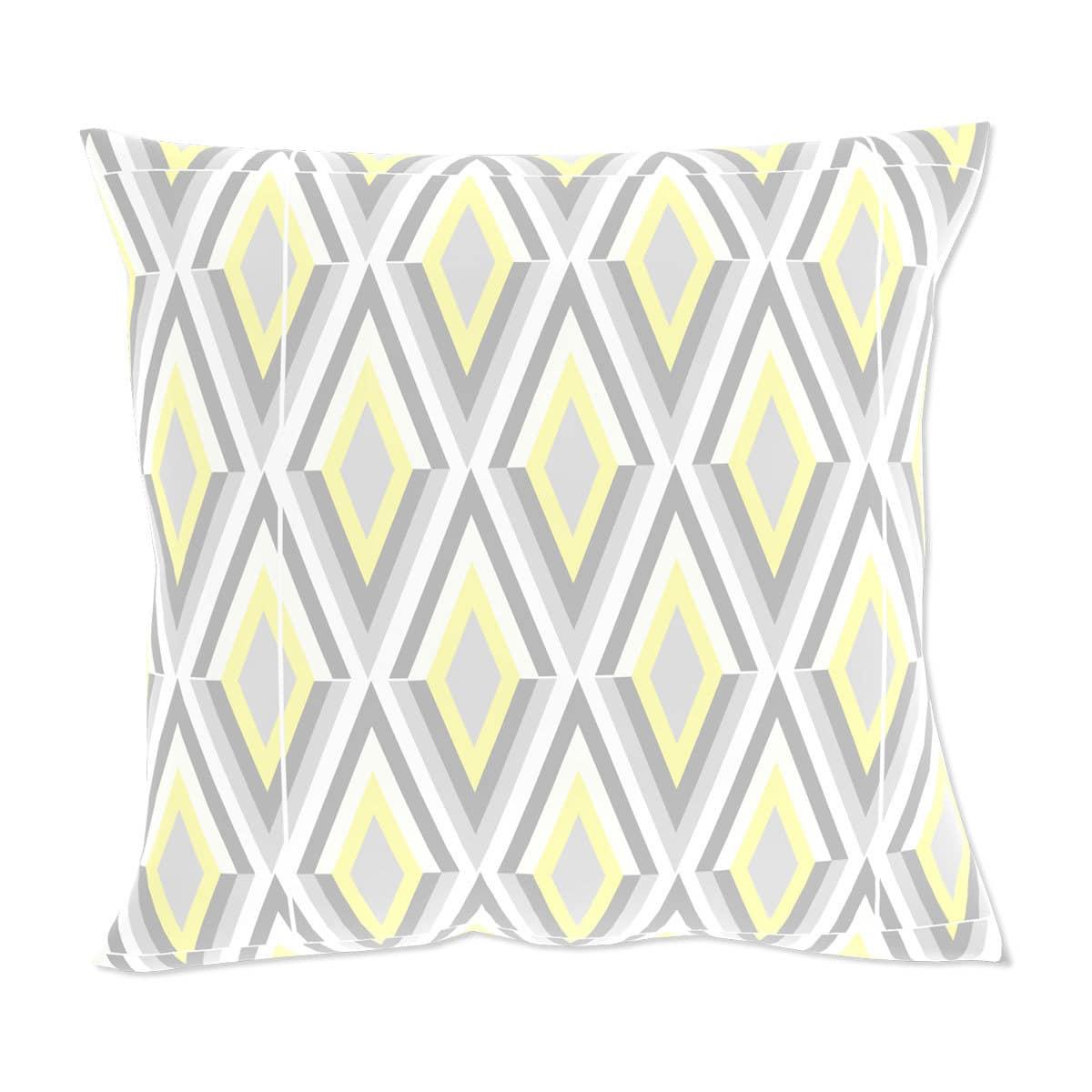 living dreams kissenh lle raute gelb grau conceptform gmbh. Black Bedroom Furniture Sets. Home Design Ideas