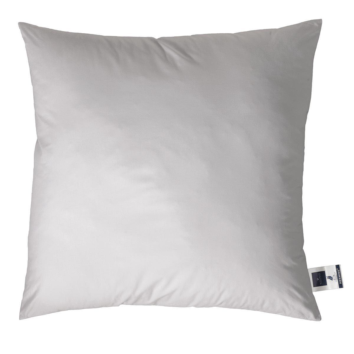 Hermine Kopfkissen 15% Daunen silver