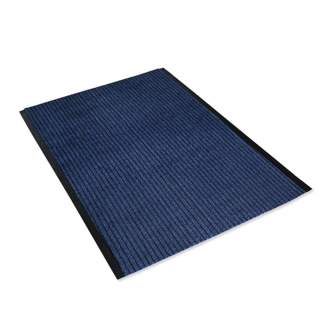 bettwarenshop l ufer schmutzfang lyon blau meterware g nstig online kaufen bei bettwaren shop. Black Bedroom Furniture Sets. Home Design Ideas