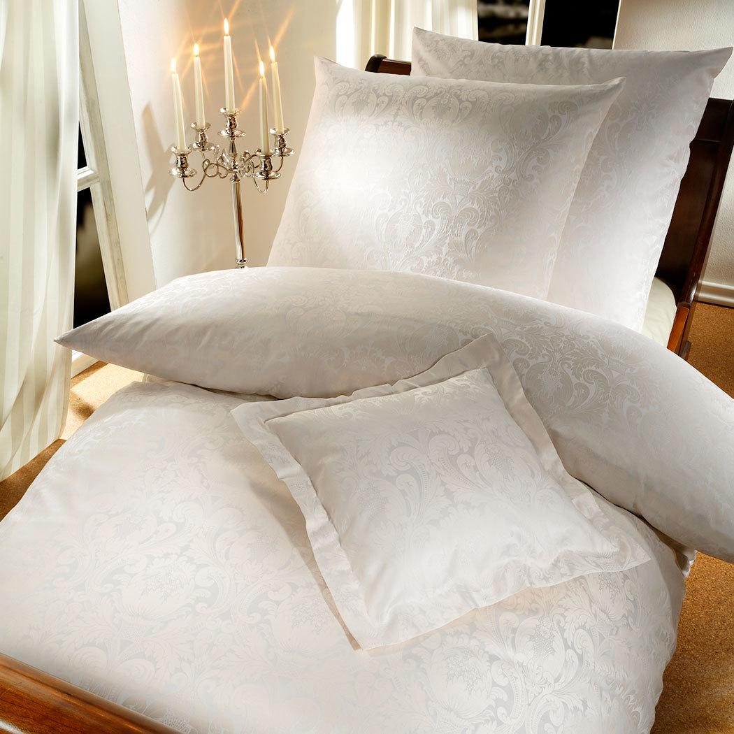 curt bauer mako brokat damast bettw sche florenz beige g nstig online kaufen bei bettwaren shop. Black Bedroom Furniture Sets. Home Design Ideas