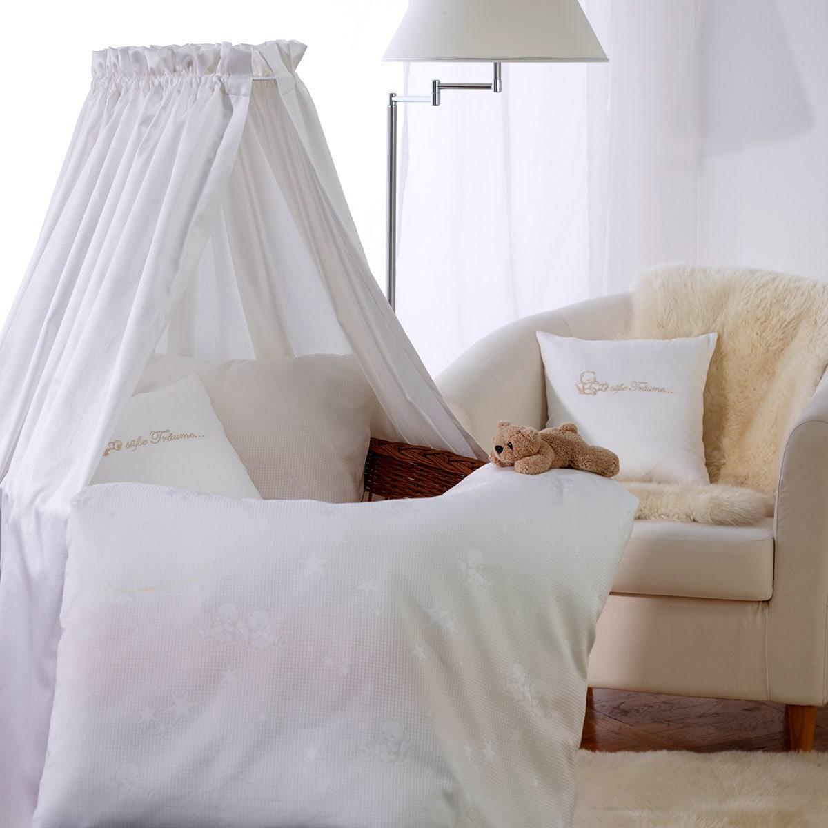 curt bauer mako brokat damast bettw sche kleiner stern natur g nstig online kaufen bei bettwaren. Black Bedroom Furniture Sets. Home Design Ideas