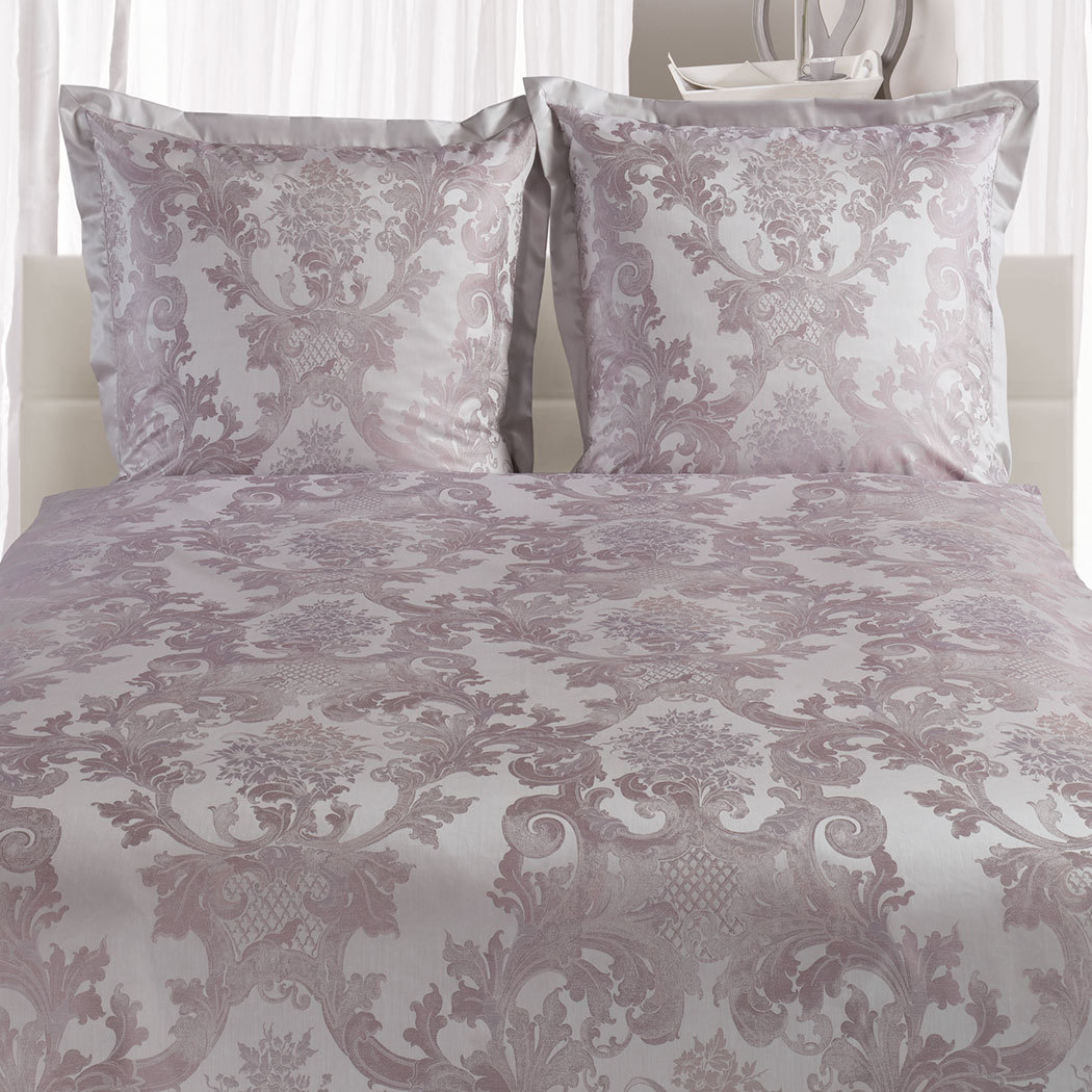 curt bauer mako brokat damast bettw sche louis xiv mauve g nstig online kaufen bei bettwaren shop. Black Bedroom Furniture Sets. Home Design Ideas
