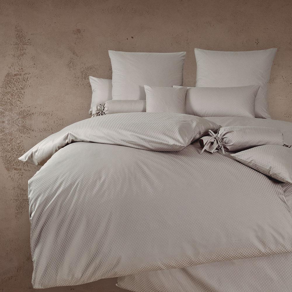 janine mako brokat damast bettw sche rubin 1323 taupe g nstig online kaufen bei bettwaren shop. Black Bedroom Furniture Sets. Home Design Ideas