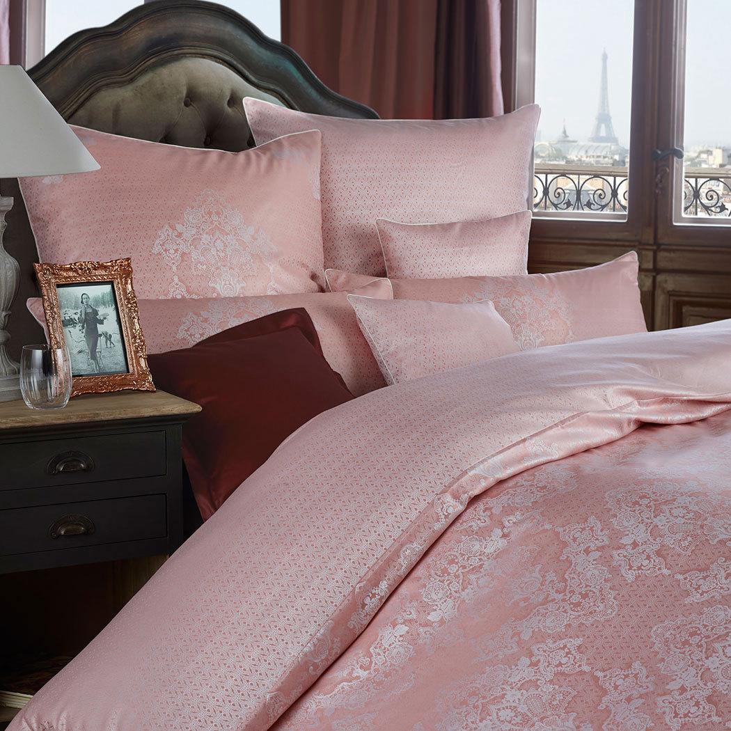 curt bauer mako brokat damast wendebettw sche juliette ros g nstig online kaufen bei bettwaren shop. Black Bedroom Furniture Sets. Home Design Ideas