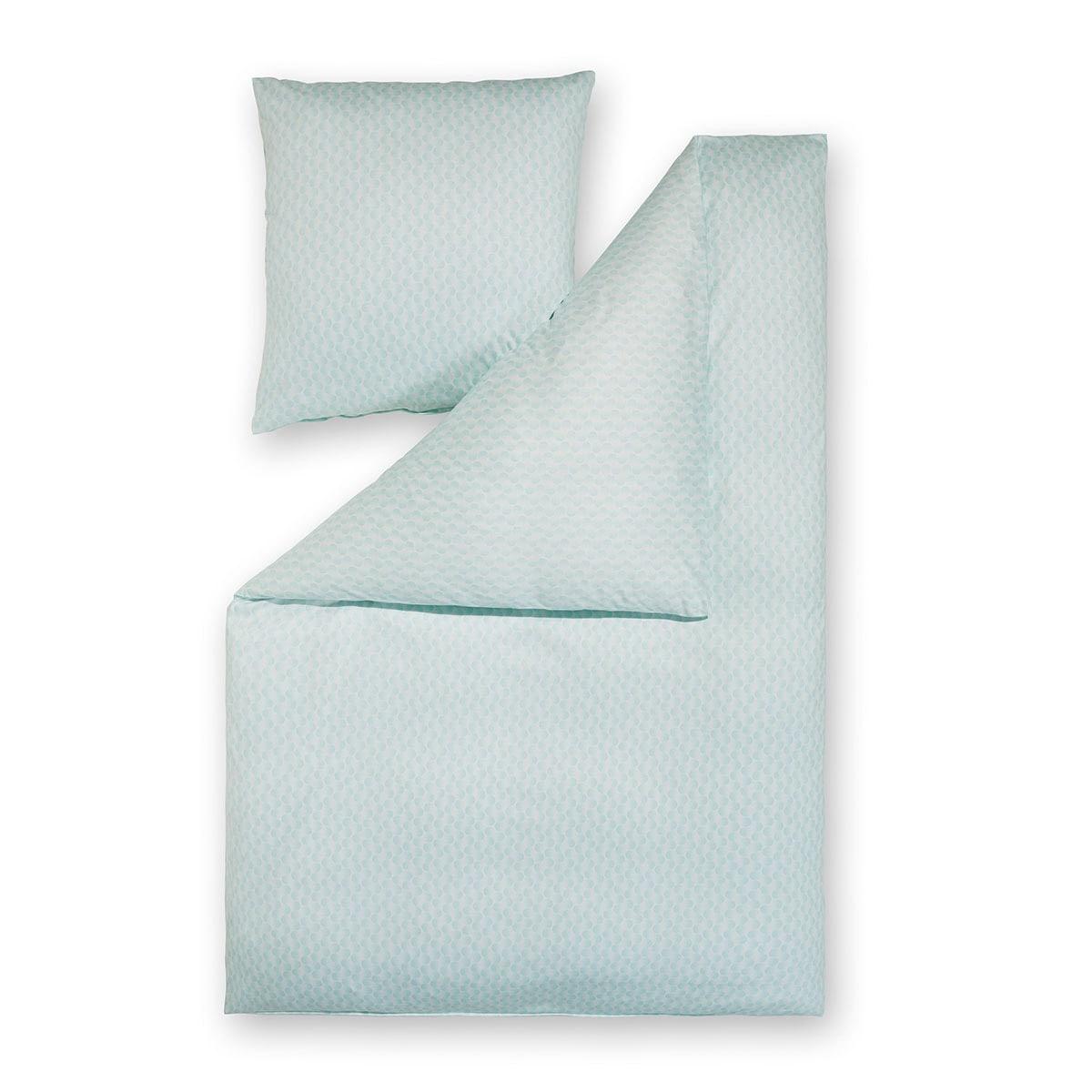 estella mako interlock jersey bettw sche dilan aqua. Black Bedroom Furniture Sets. Home Design Ideas