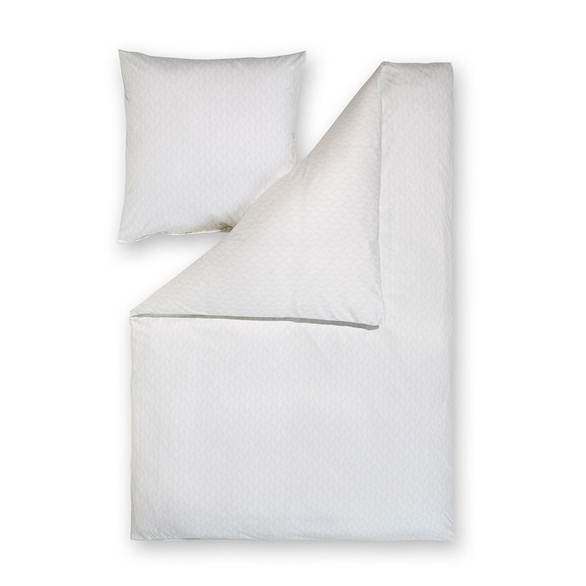 estella mako interlock jersey bettw sche dilan silber g nstig online kaufen bei bettwaren shop. Black Bedroom Furniture Sets. Home Design Ideas