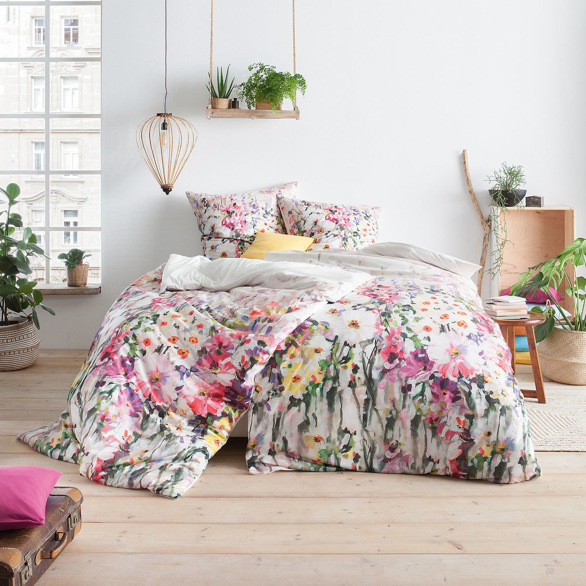 estella mako interlock jersey bettw sche vera lavendel. Black Bedroom Furniture Sets. Home Design Ideas