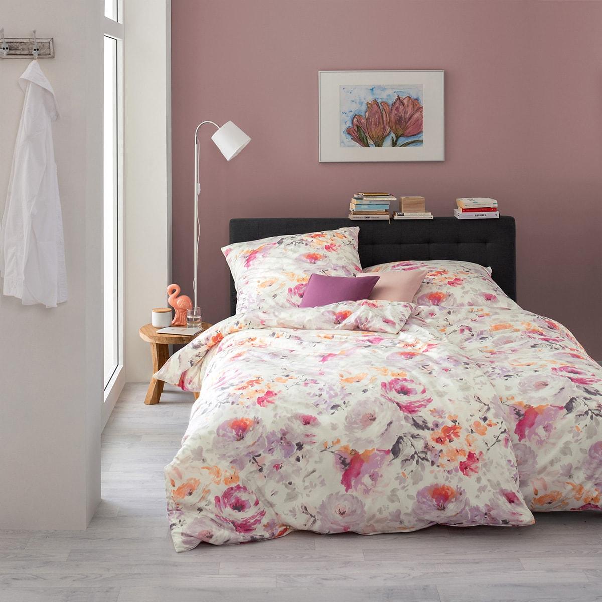 estella mako interlock jersey bettw sche viola flieder. Black Bedroom Furniture Sets. Home Design Ideas