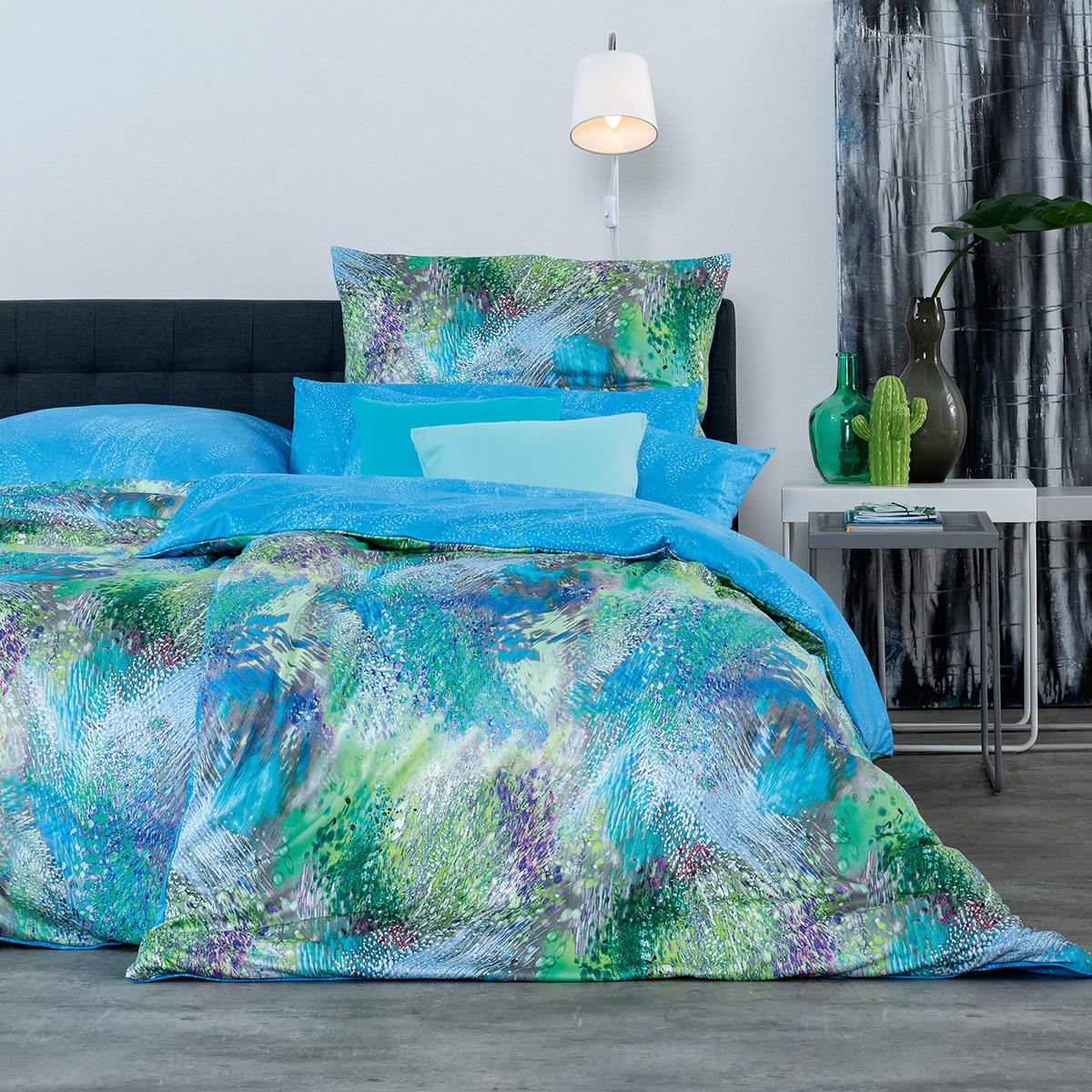 estella mako interlock jersey wendebettw sche neo t rkis. Black Bedroom Furniture Sets. Home Design Ideas
