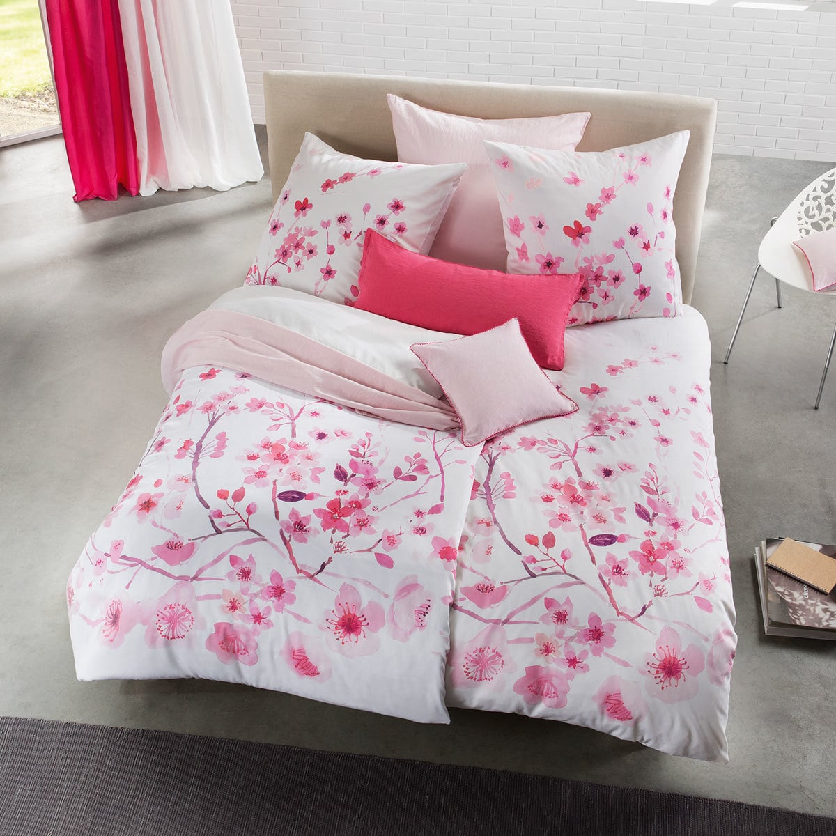 Fleuresse Mako-Satin Bettwäsche Bed Art S Fagernes