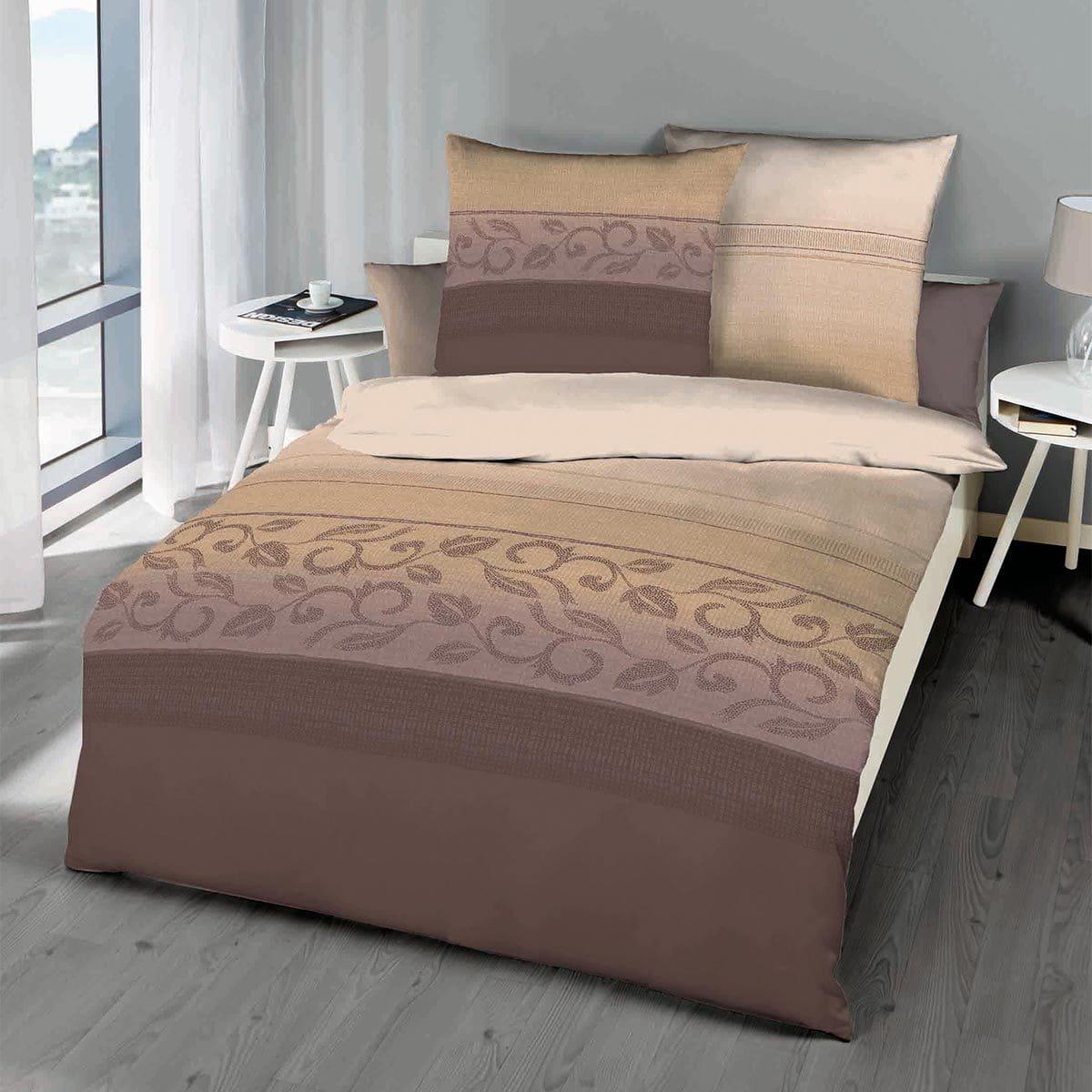 kaeppel mako satin bettw sche believe mauve g nstig online kaufen bei bettwaren shop. Black Bedroom Furniture Sets. Home Design Ideas
