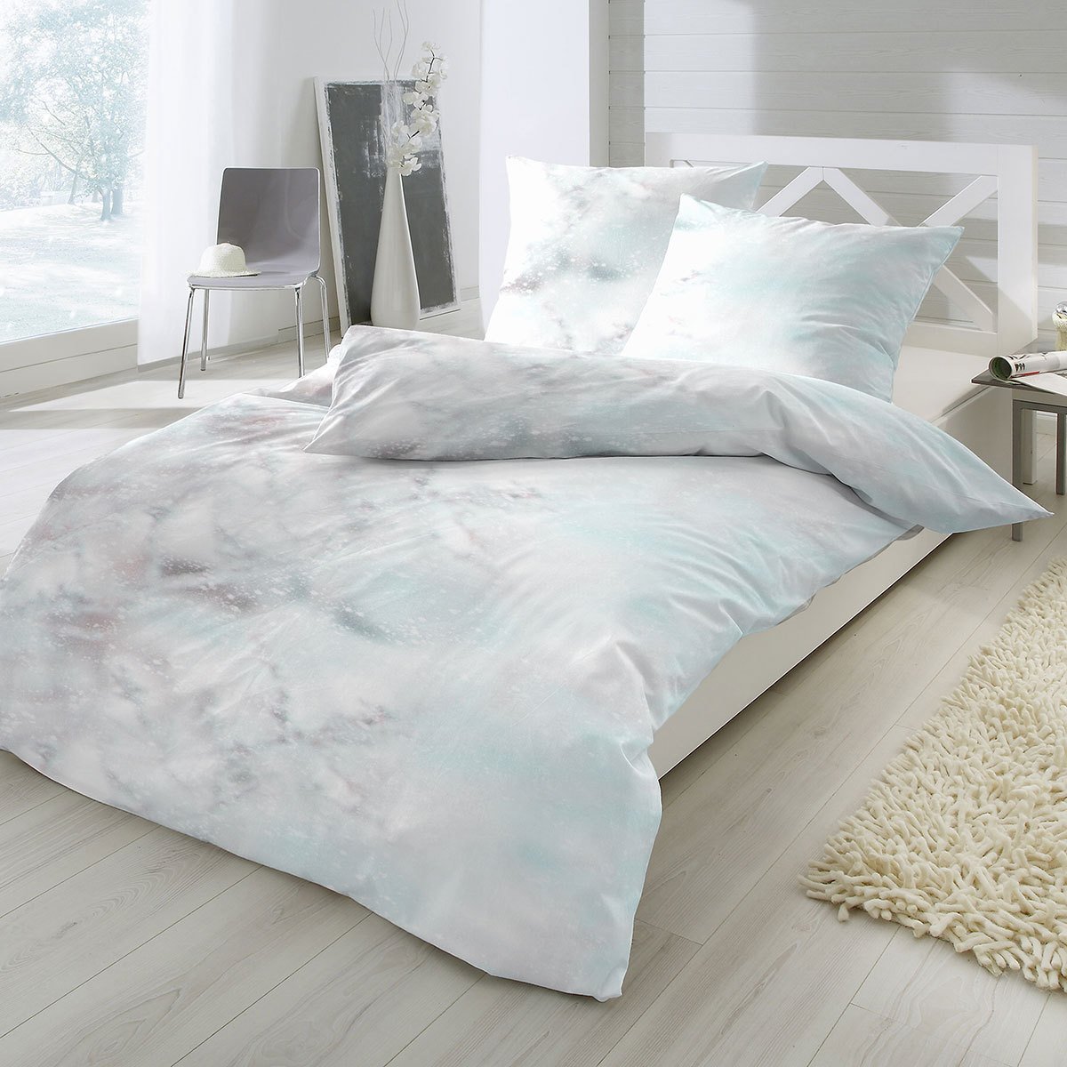 enrico coss mako satin bettw sche berlin gr n g nstig online kaufen bei bettwaren shop. Black Bedroom Furniture Sets. Home Design Ideas