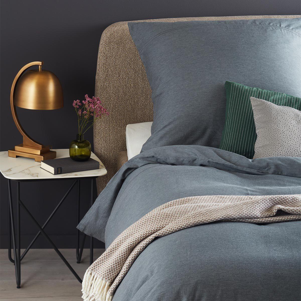 sch ner wohnen mako satin bettw sche brava anthrazit erfolgsteams frankfurt. Black Bedroom Furniture Sets. Home Design Ideas