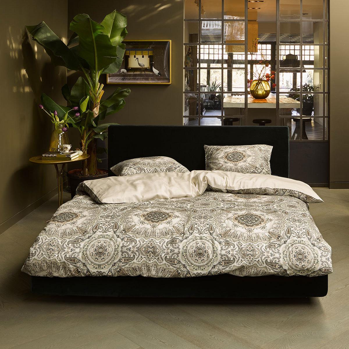 essenza mako satin bettw sche cadiz ecru g nstig online. Black Bedroom Furniture Sets. Home Design Ideas