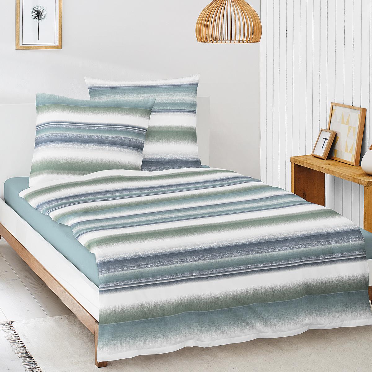 Baumwoll Bettwasche 135x200 Grun Preisvergleich Die Besten