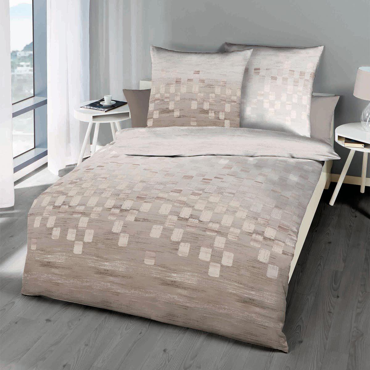 kaeppel mako satin bettw sche domino g nstig online kaufen. Black Bedroom Furniture Sets. Home Design Ideas