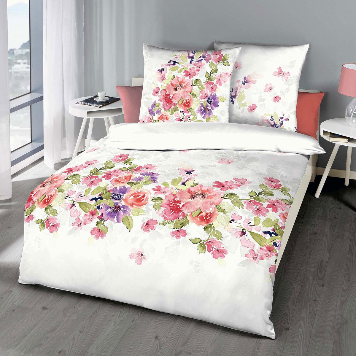 kaeppel mako satin bettw sche fabienne rot haehnchen karlsruhe. Black Bedroom Furniture Sets. Home Design Ideas