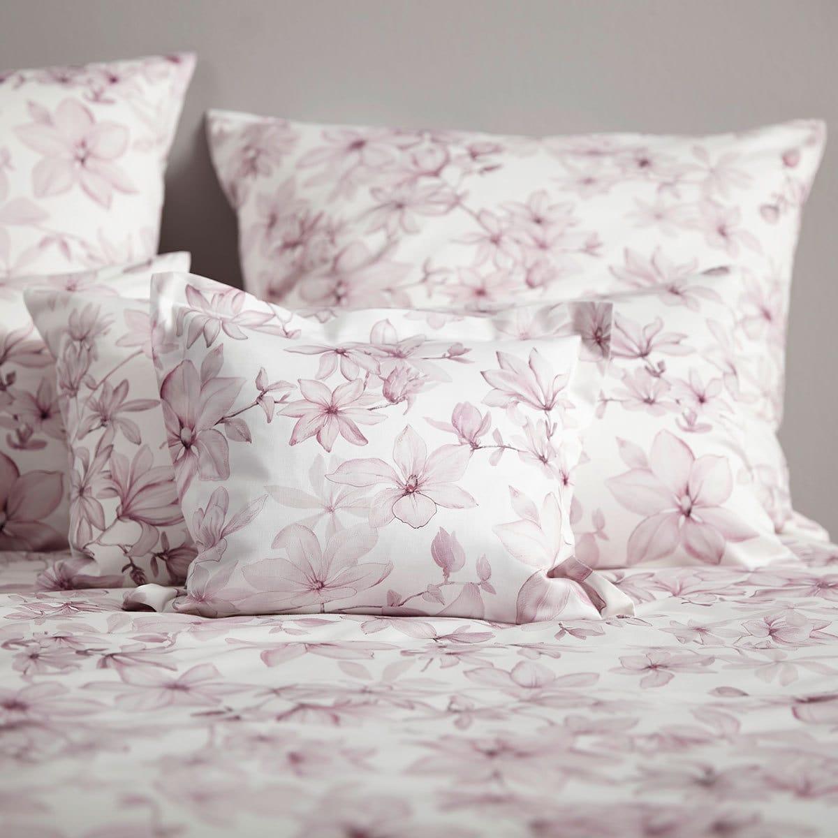 elegante mako satin bettw sche fairy rose g nstig online. Black Bedroom Furniture Sets. Home Design Ideas