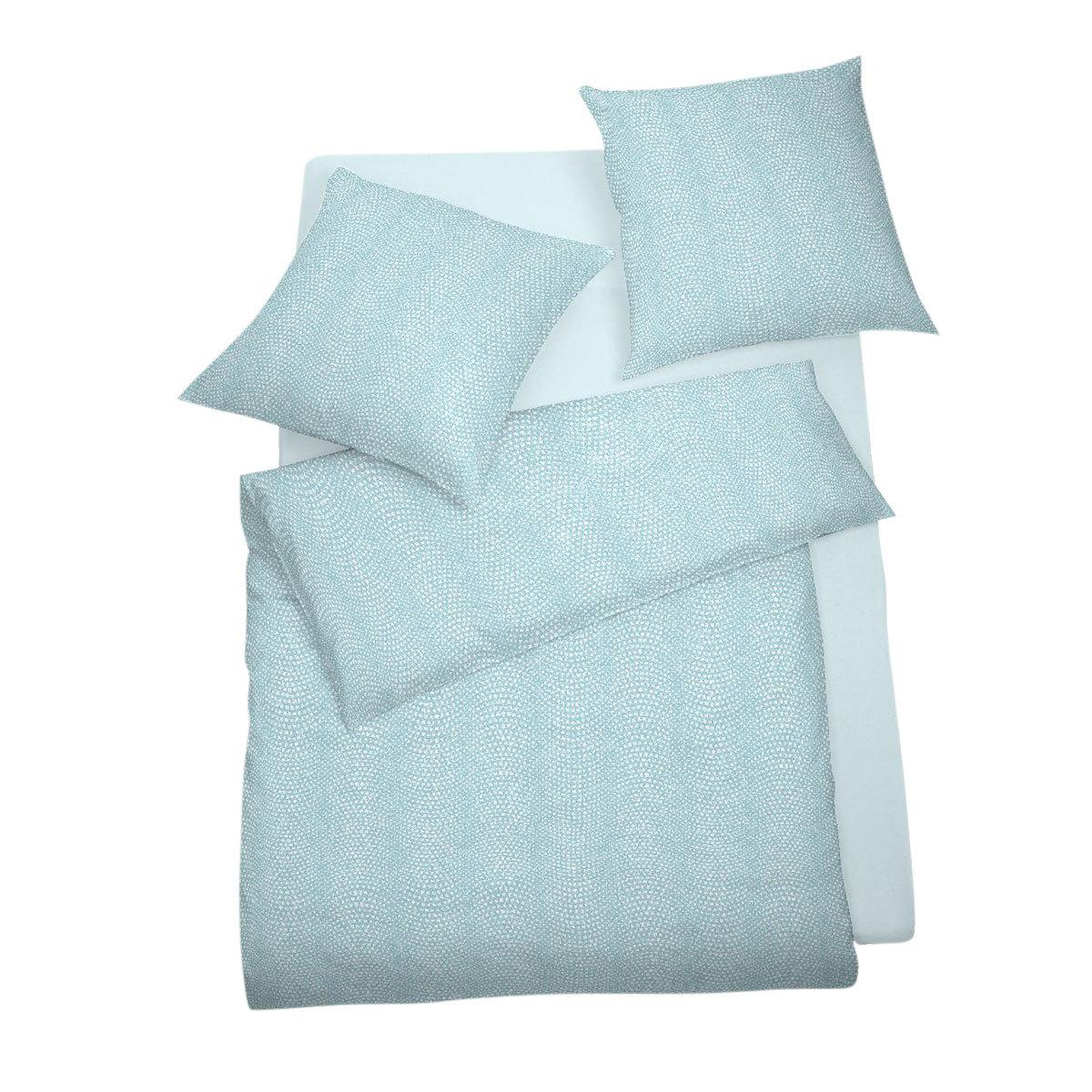 schlafgut mako satin bettw sche harmony lagune g nstig online kaufen bei bettwaren shop. Black Bedroom Furniture Sets. Home Design Ideas