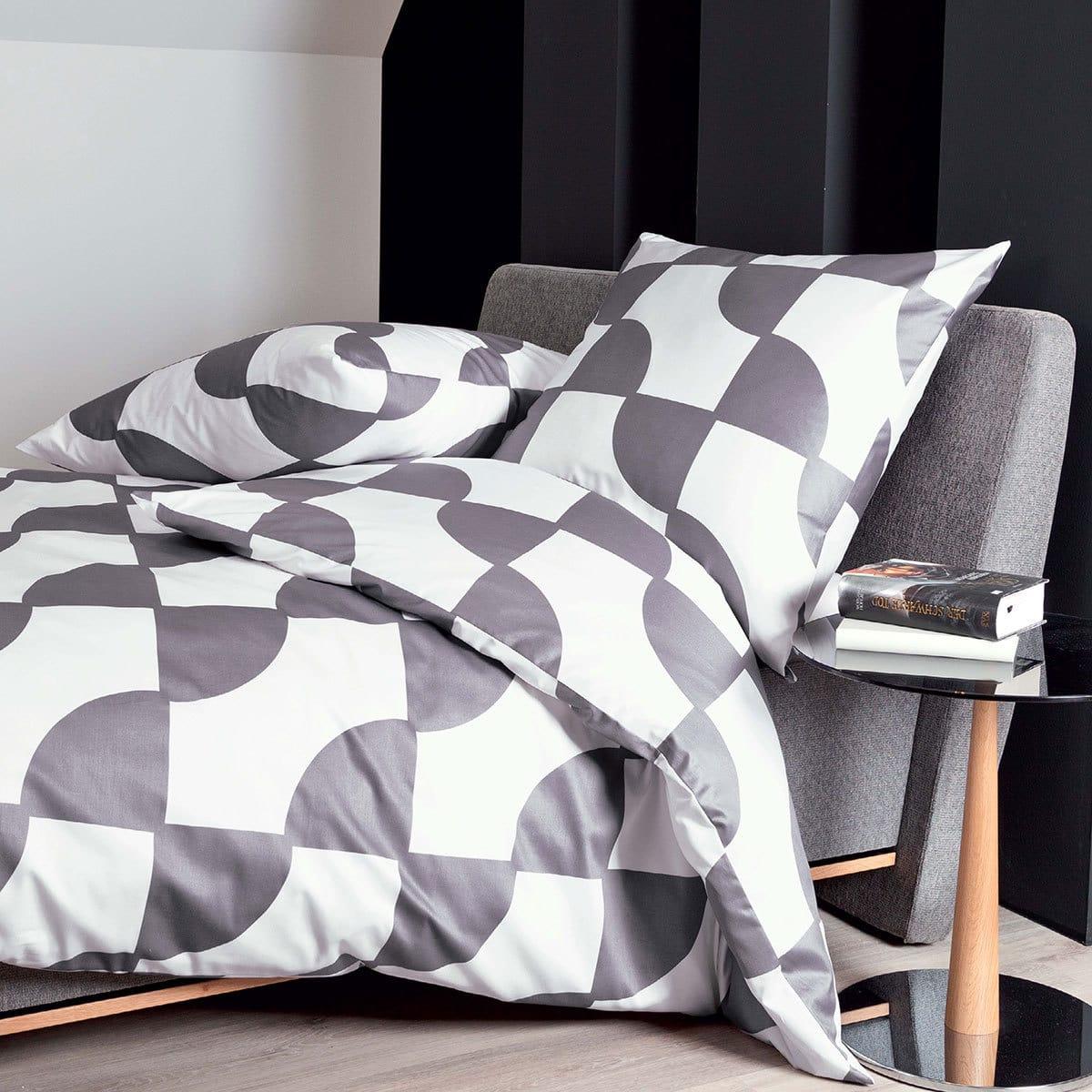 janine mako satin bettw sche j d 87019 08 platin g nstig online kaufen bei bettwaren shop. Black Bedroom Furniture Sets. Home Design Ideas