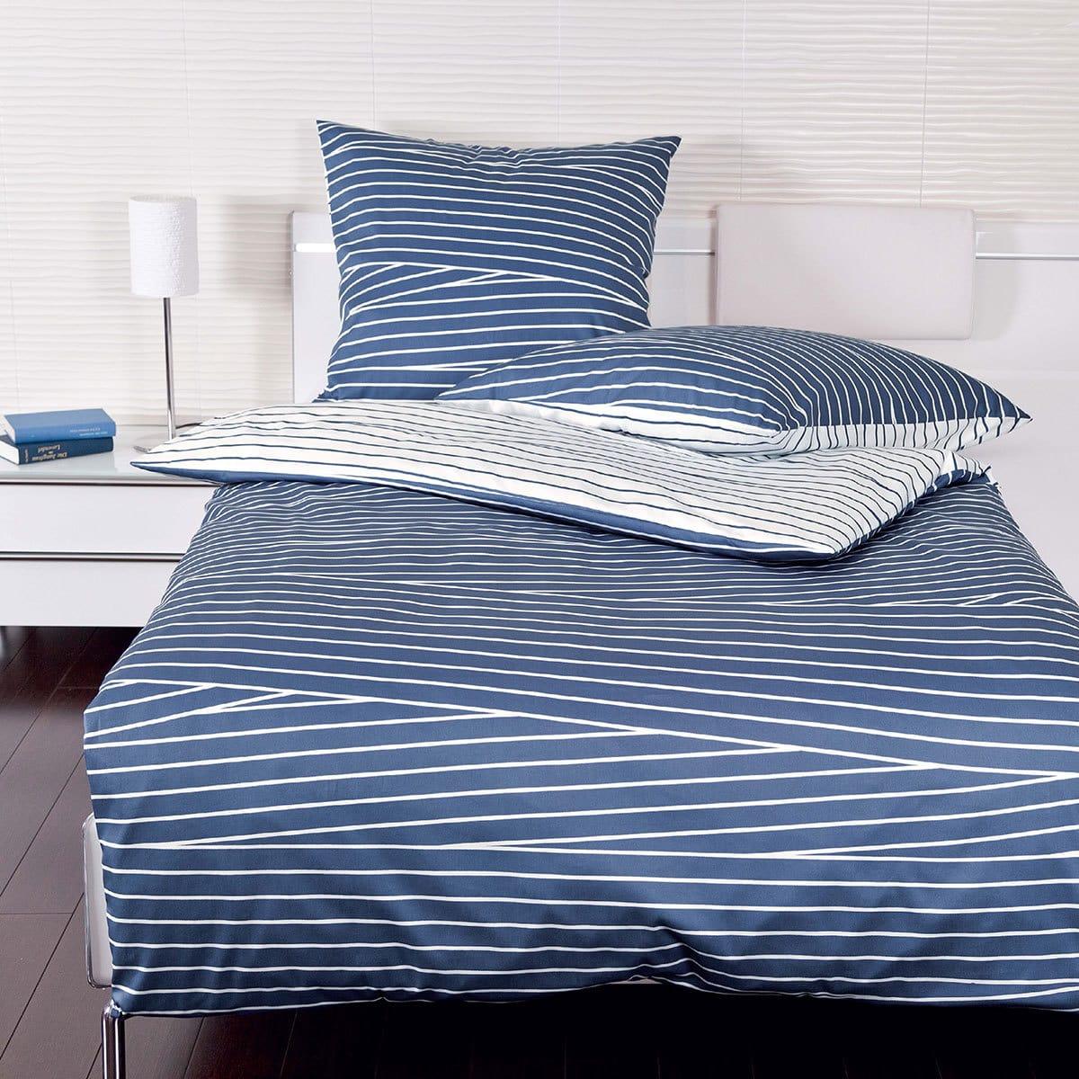 janine mako satin bettw sche j d 87022 02 blau g nstig online kaufen bei bettwaren shop. Black Bedroom Furniture Sets. Home Design Ideas