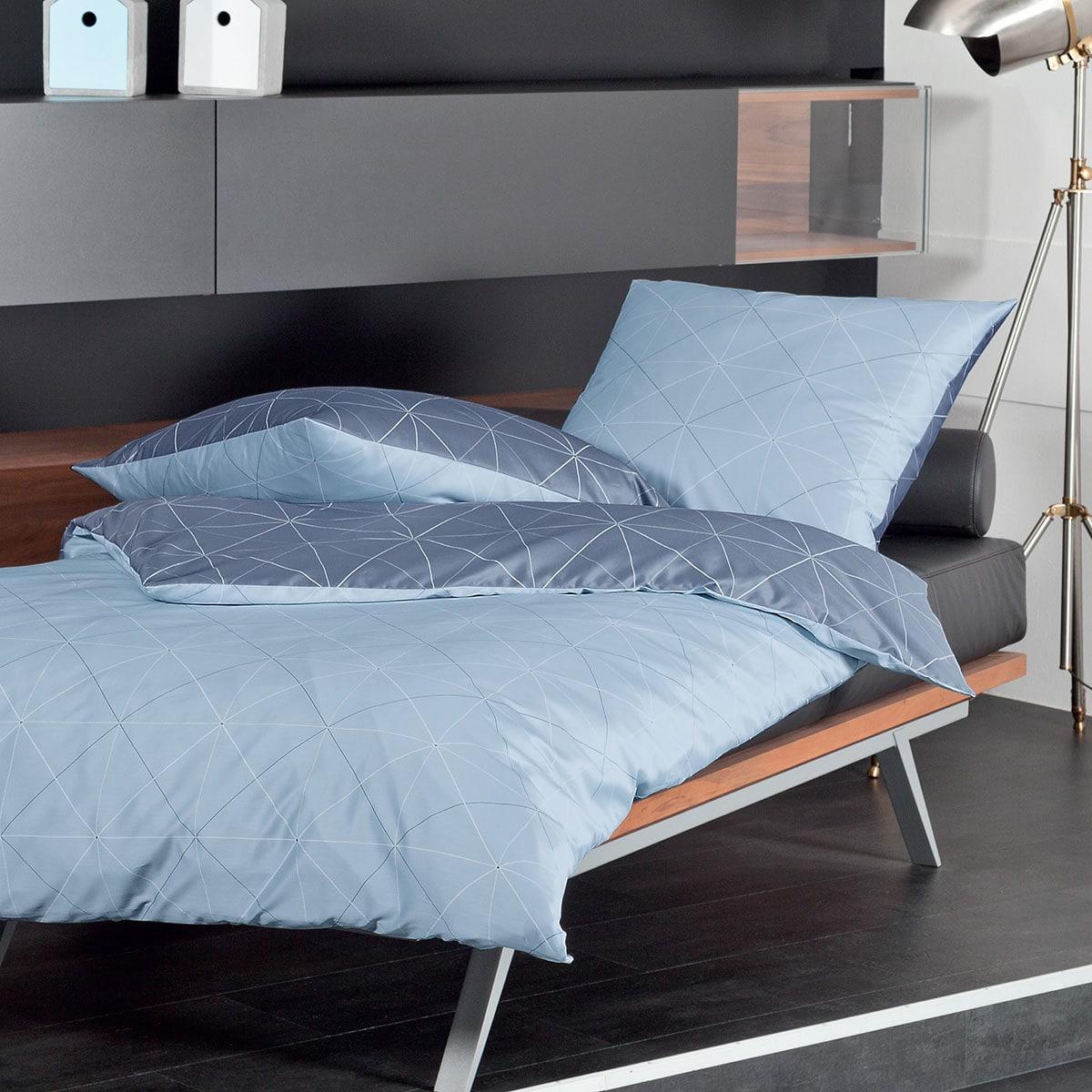 janine mako satin bettw sche j d 87026 08 sterling. Black Bedroom Furniture Sets. Home Design Ideas