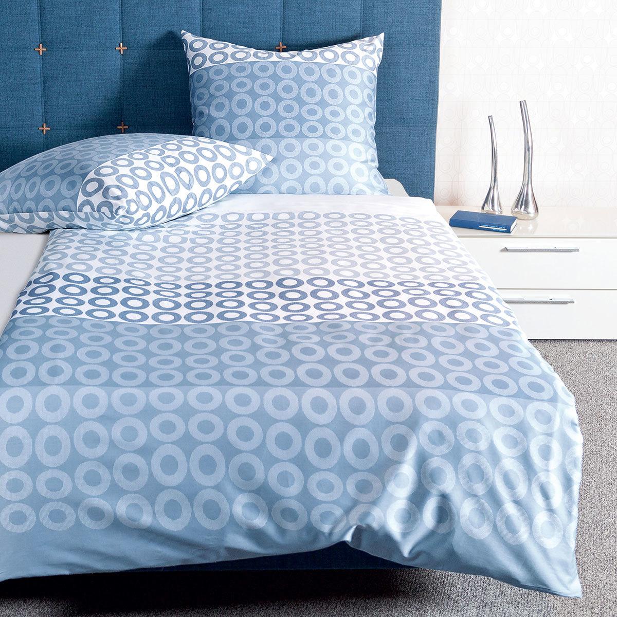 Weiss Blau Baumwolle Bettwäsche Garnituren Online Kaufen Möbel