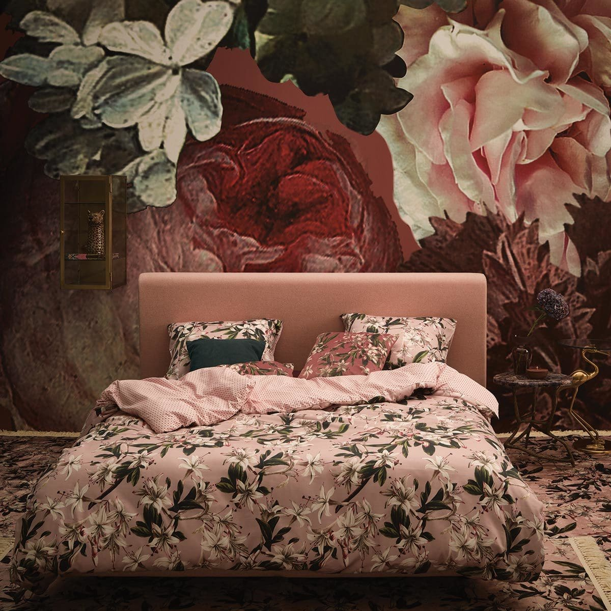 Essenza Mako-Satin Bettwäsche Lily rose